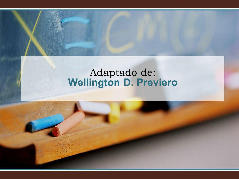 Adaptado de: Wellington D. Previero