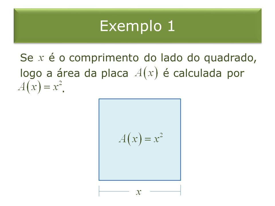 Evidentemente, quando mais o valor de se aproxima de mais o valor da área se aproxima a, isto é, Exemplo 3