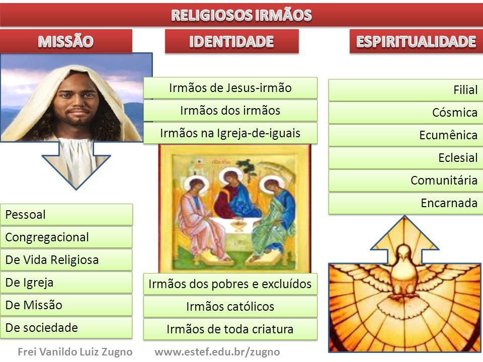 Pessoal Congregacional De Vida Religiosa De Igreja De Missão De sociedade Filial Cósmica Ecumênica Eclesial Comunitária Encarnada Irmãos de Jesus-irmã