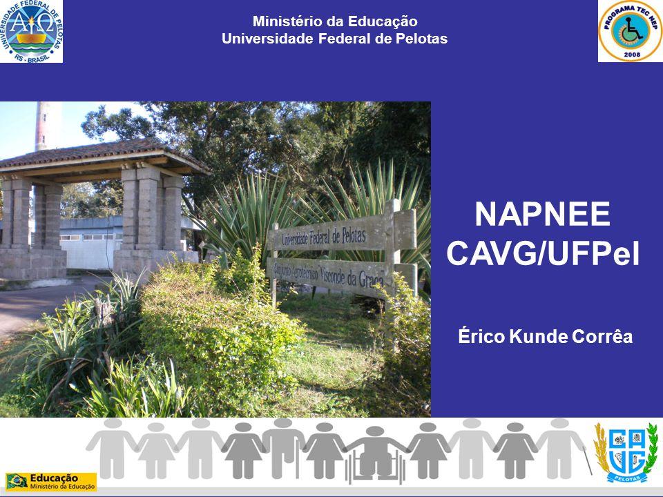 Érico Kunde Corrêa Ministério da Educação Universidade Federal de Pelotas NAPNEE CAVG/UFPel