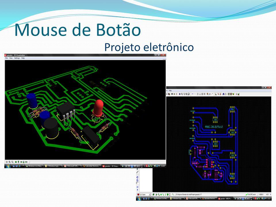 Mouse de Botão Projeto eletrônico