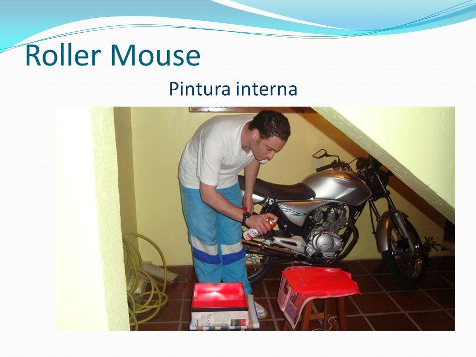 Roller Mouse Pintura interna