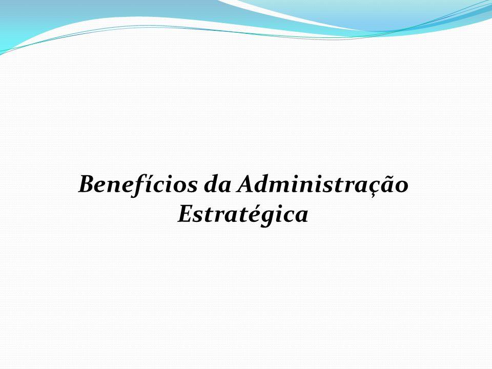 Benefícios da Administração Estratégica