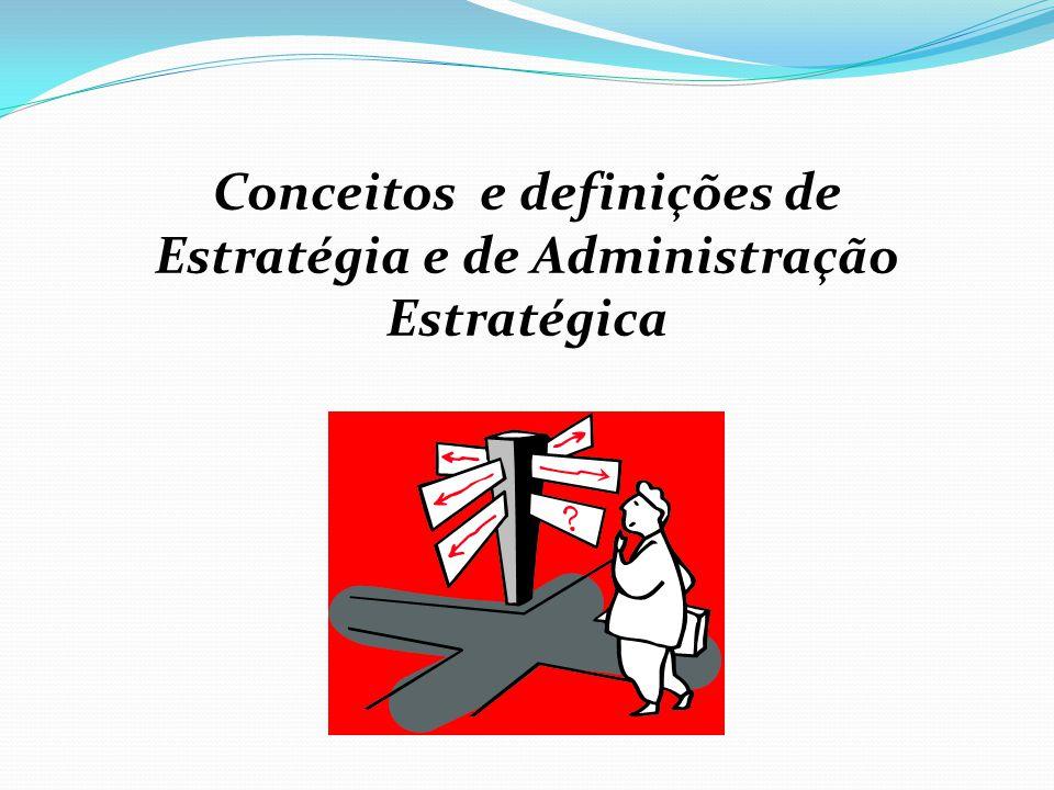 Funções do Administrador Estratégico 1.Definir a missão 2.
