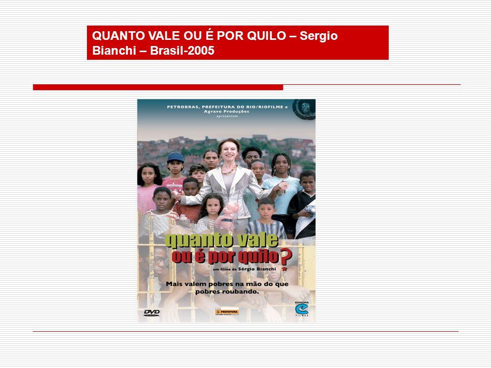 QUANTO VALE OU É POR QUILO – Sergio Bianchi – Brasil-2005