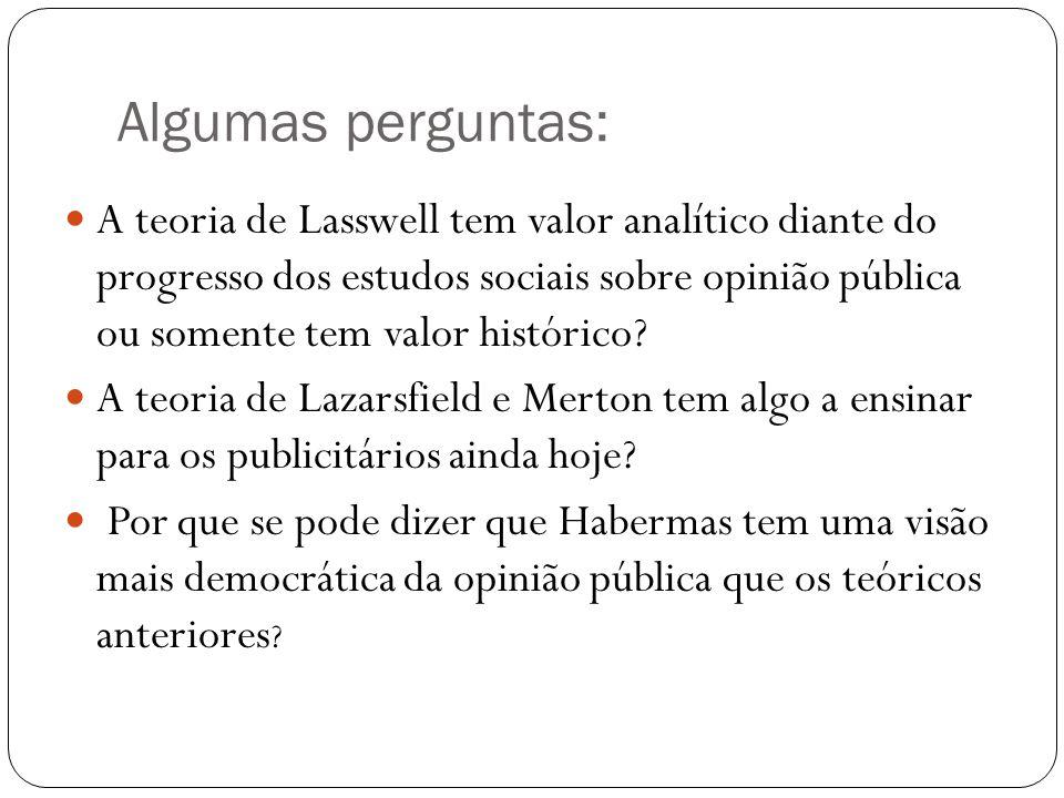 Monique Augras e Gaston Berger (A opinião pública) A opinião é um fenômeno social.