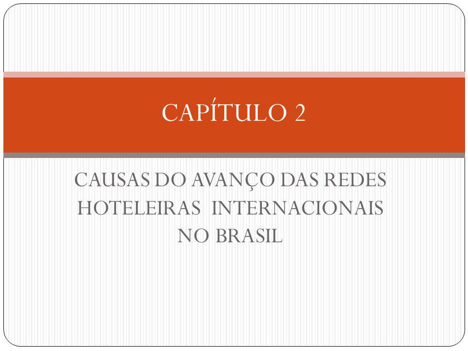 CAUSAS DO AVANÇO DAS REDES HOTELEIRAS INTERNACIONAIS NO BRASIL CAPÍTULO 2