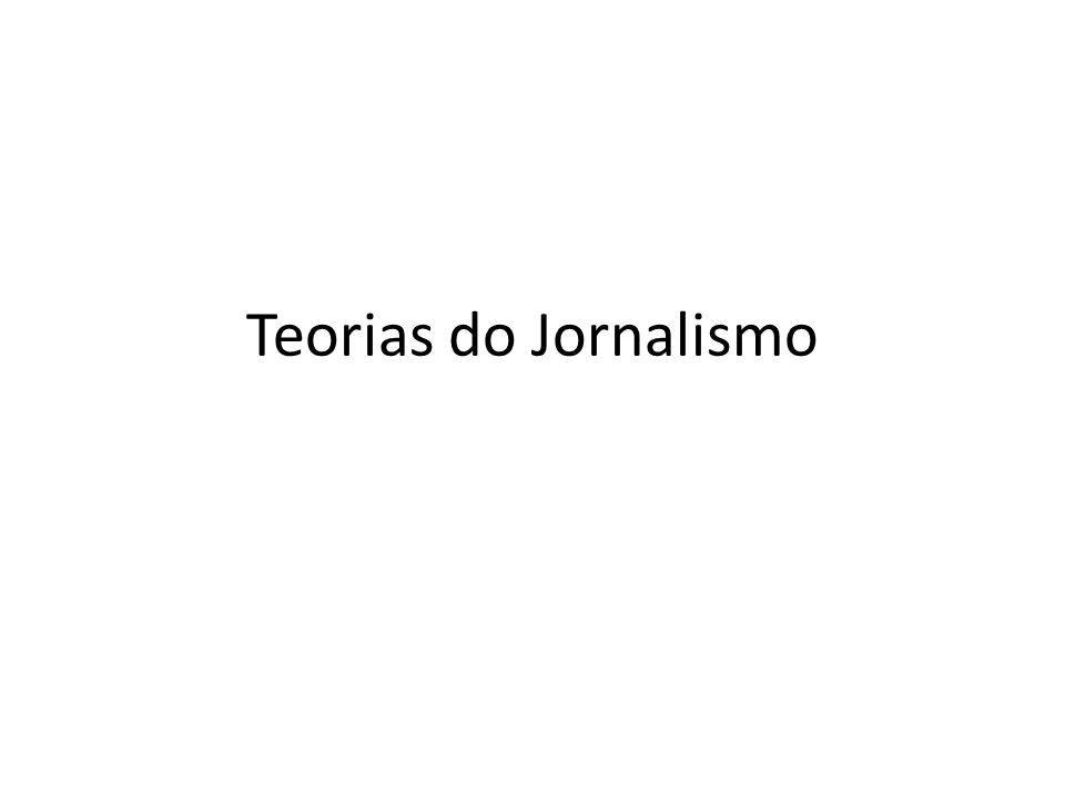 Teorias do Jornalismo