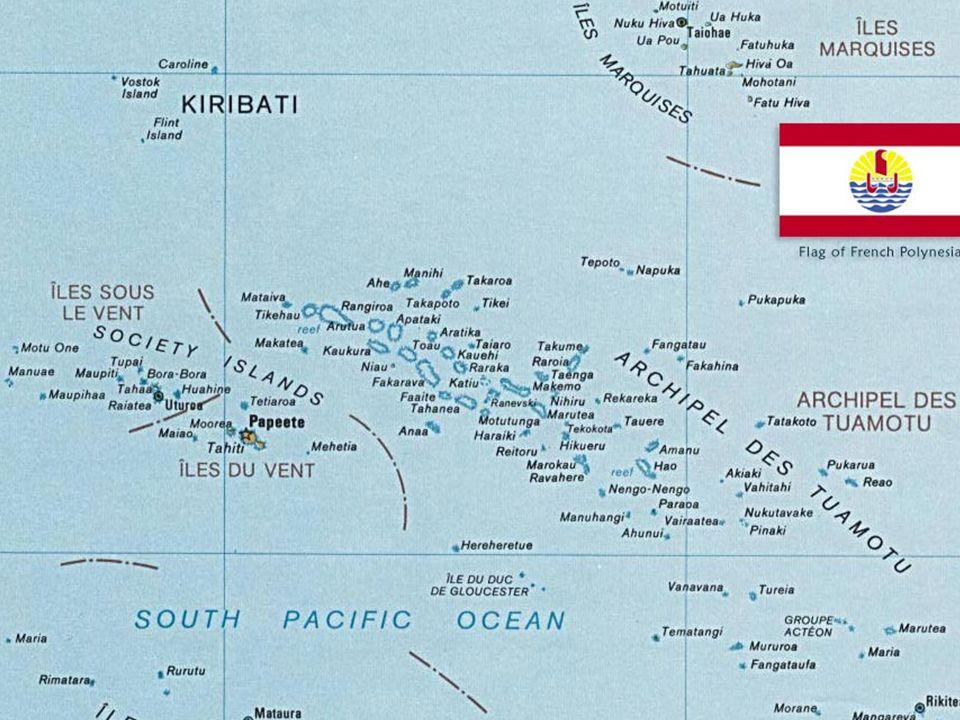 Segunda questão : dependência administrativa - Polinésia Francesa