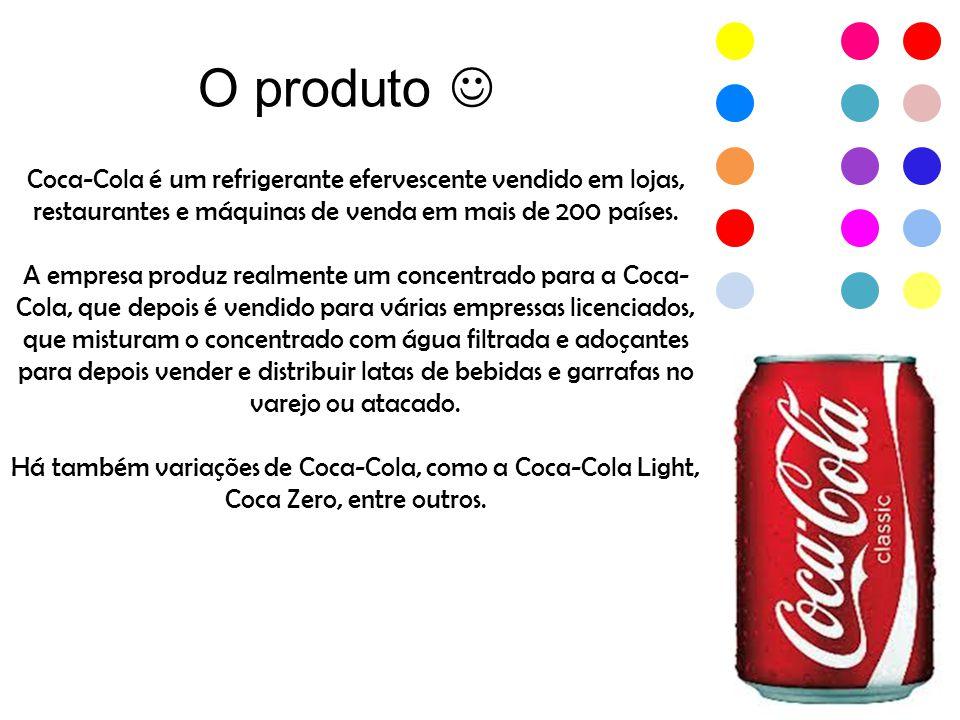 No Mercado De acordo com estudos, Onde mais é consumida a Coca-Cola, é em América.