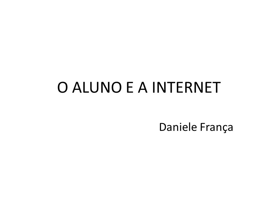 PROBLEMATICA A internet tem se tornado um dos meios mais usados pelos acadêmicos para desenvolverem seus trabalhos.
