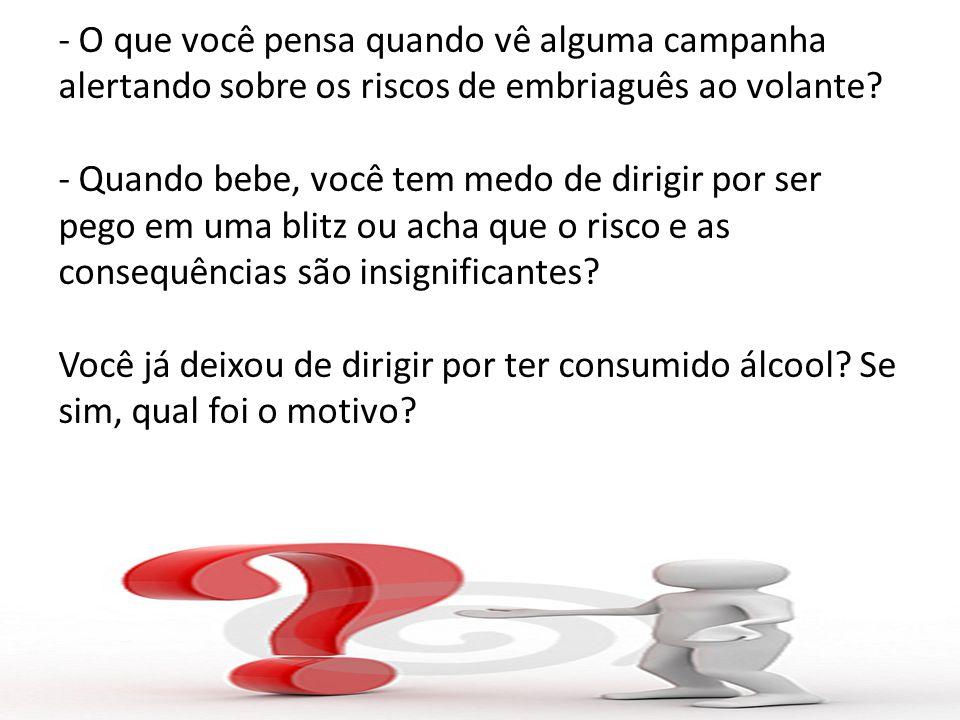 Bibliografia Matérias que me inspiraram em fazer essa pesquisa: http://www.saude.al.gov.br/node/219 http://www.brasil.gov.br/noticias/arquivos/20 13/02/20/alcool-esta-ligado-a-21-dos- acidentes-no-transito-do-pais http://www.brasil.gov.br/noticias/arquivos/20 13/02/20/alcool-esta-ligado-a-21-dos- acidentes-no-transito-do-pais