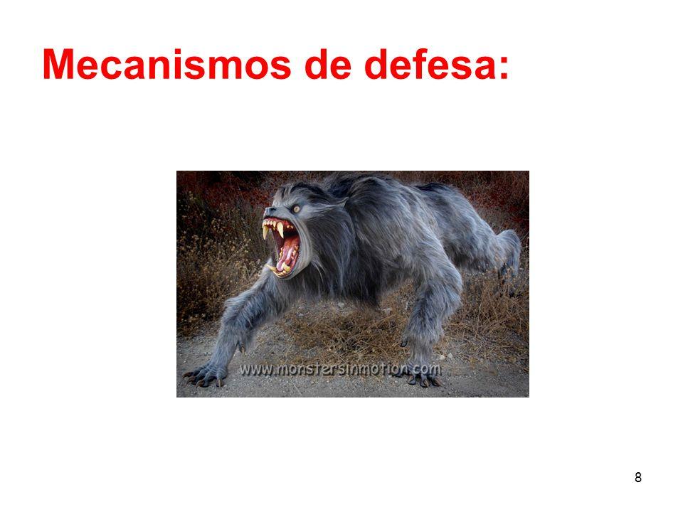 8 Mecanismos de defesa: