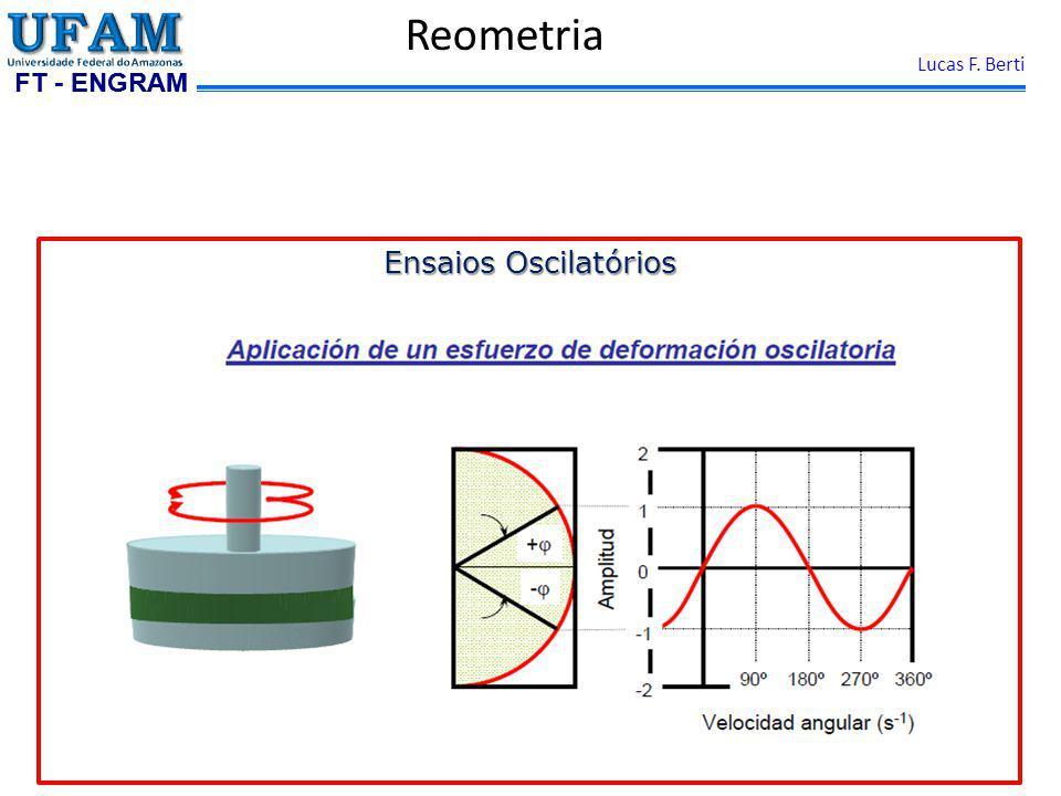 FT - ENGRAM Lucas F. Berti Reometria Ensaios Oscilatórios