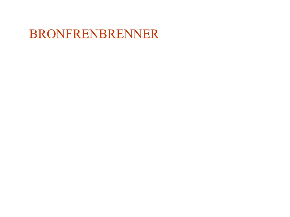 BRONFRENBRENNER
