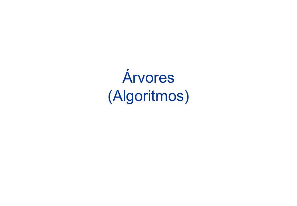 Árvores (Algoritmos)