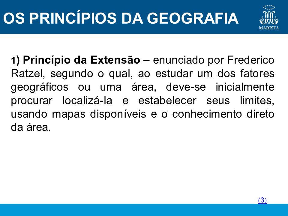 5 principio geografia: