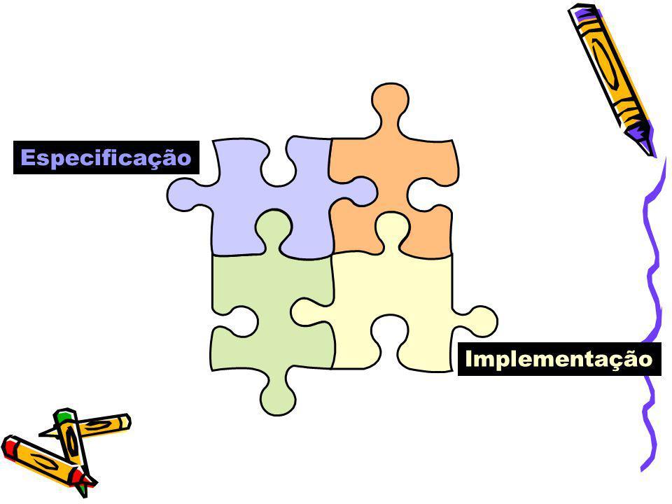 Especificação Implementação