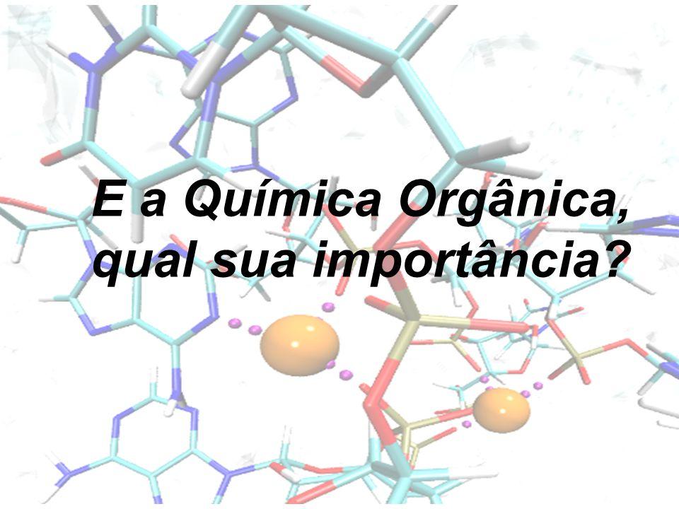 E a Química Orgânica, qual sua importância?