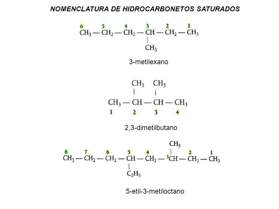 1-buteno but-1-eno 2-hexeno Hex-2-eno 3-etil-1-hexeno 3-etilex-1-eno NOMENCLATURA DE HIDROCARBONETOS INSATURADOS