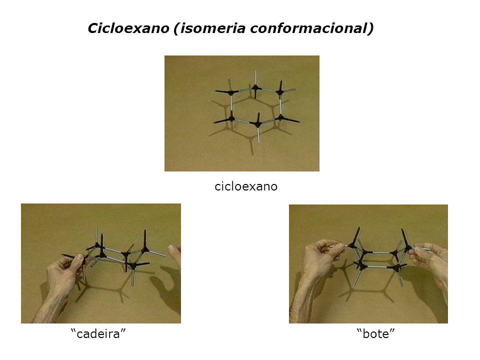 Cicloexano (isomeria conformacional) cicloexano cadeirabote