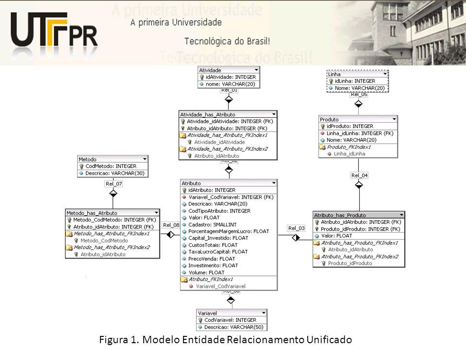 Figura 1. Modelo Entidade Relacionamento Unificado