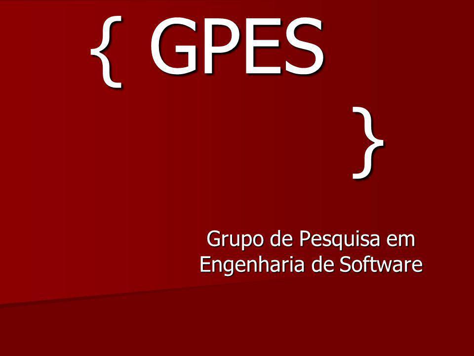 { GPES } Grupo de Pesquisa em Engenharia de Software