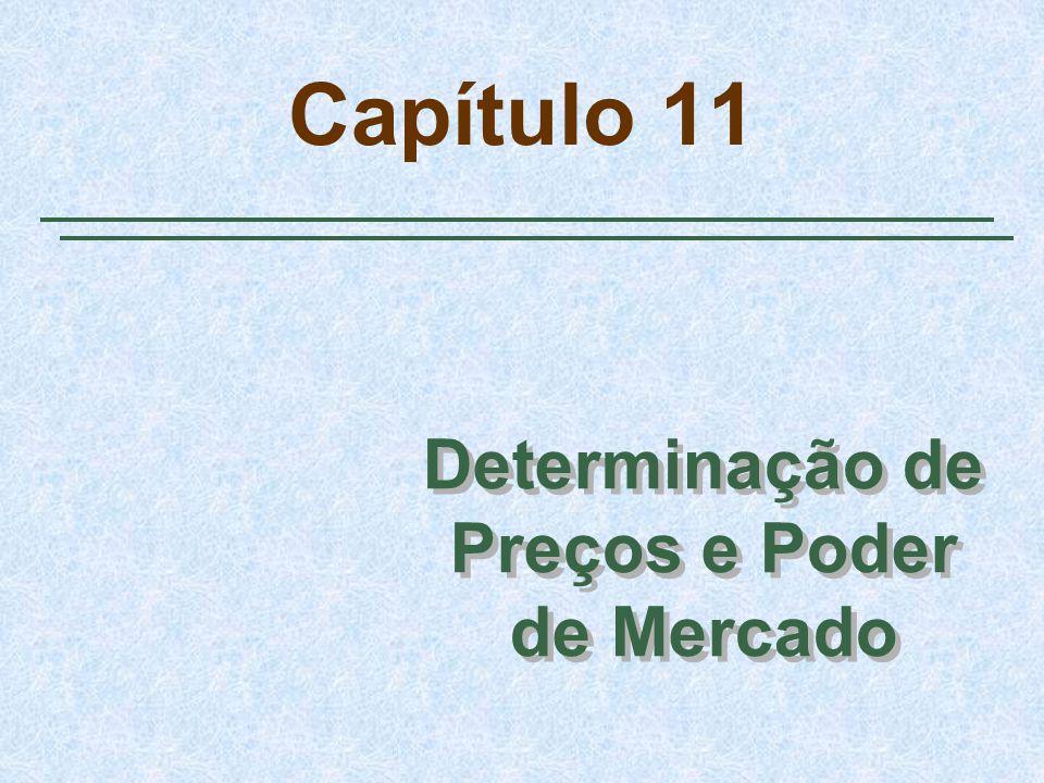 Capítulo 11 Determinação de Preços e Poder de Mercado