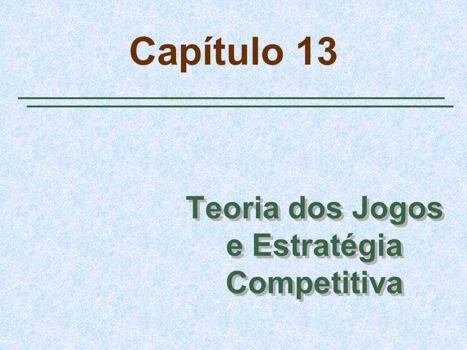 Capítulo 13 Teoria dos Jogos e Estratégia Competitiva