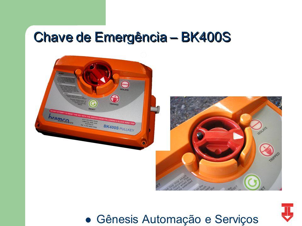 Gênesis Automação e Serviços Chave de Emergência – BK400S