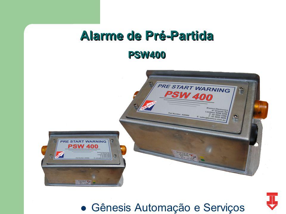Gênesis Automação e Serviços Alarme de Pré-Partida PSW400 Alarme de Pré-Partida PSW400