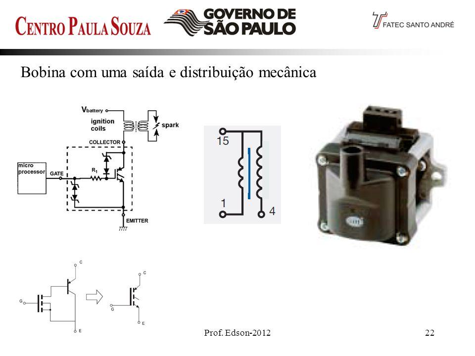 Prof. Edson-201222 Bobina com uma saída e distribuição mecânica