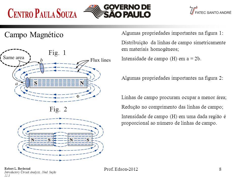 8 Campo Magnético Robert L.Boylestad Introductory Circuit Analysis, 10ed.