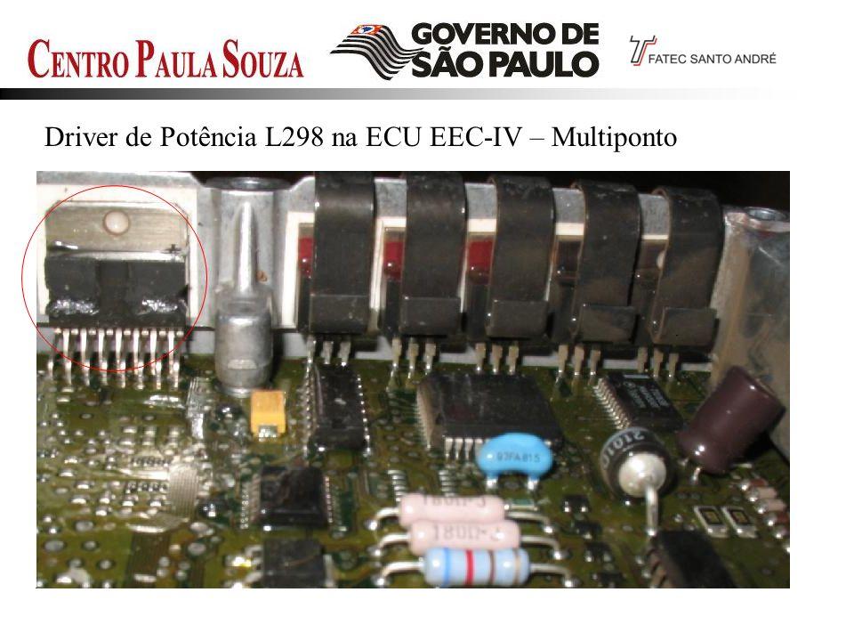 Driver de Potência L298 na ECU EEC-IV – Multiponto