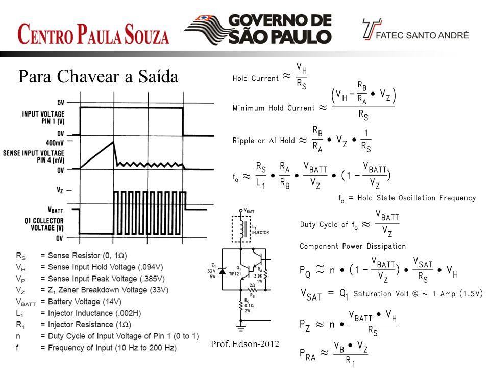 Prof. Edson-201239 Para Chavear a Saída
