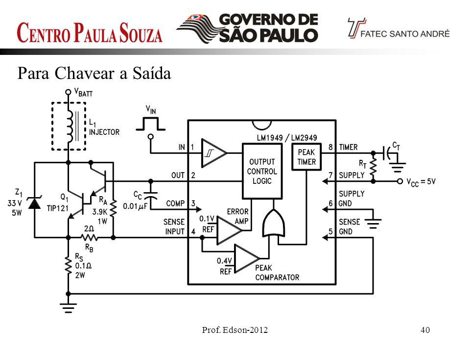 Prof. Edson-201240 Para Chavear a Saída