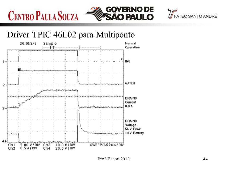 Prof. Edson-201244 Driver TPIC 46L02 para Multiponto