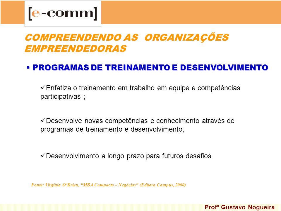 PROGRAMAS DE TREINAMENTO E DESENVOLVIMENTO PROGRAMAS DE TREINAMENTO E DESENVOLVIMENTO Desenvolve novas competências e conhecimento através de programa