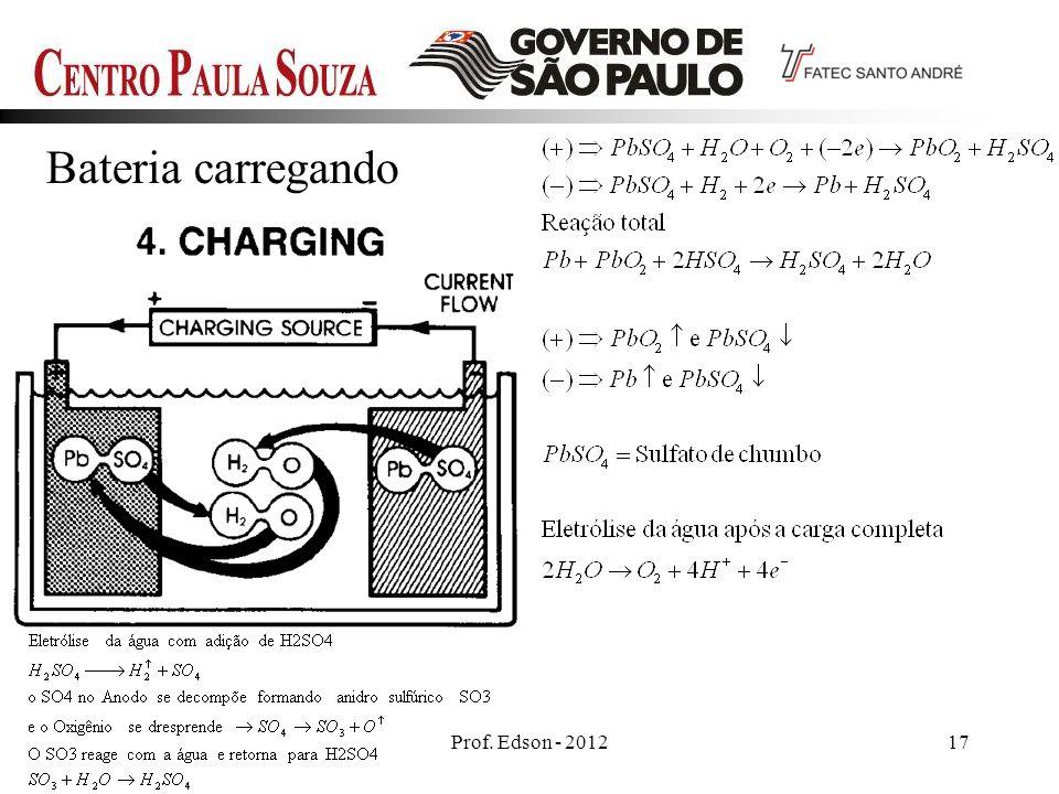 Prof. Edson - 201217 Bateria carregando