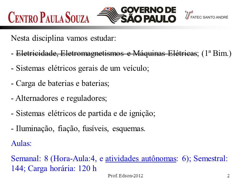Prof.Edson - 201243 301 Circuitos – Elektor – Ed.