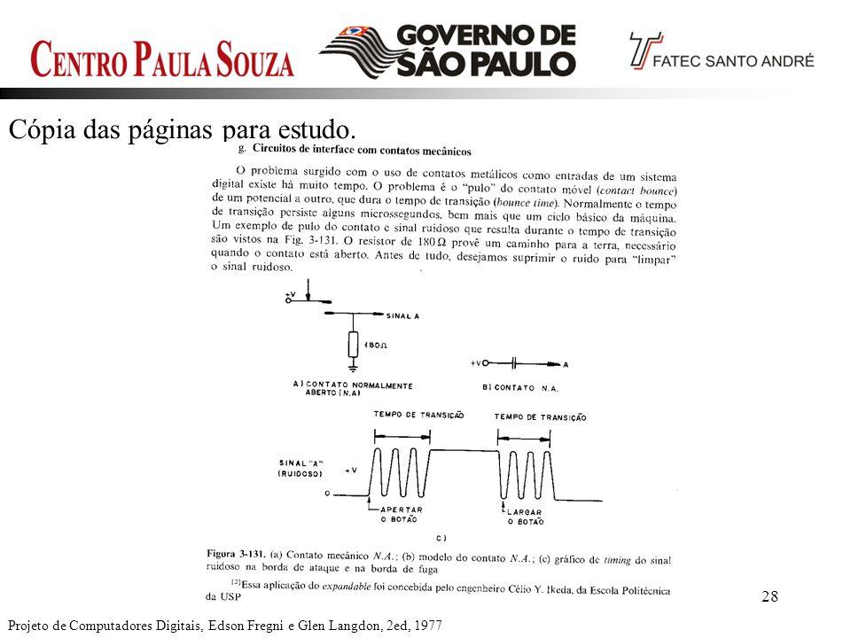 Prof. Edson-201228 Cópia das páginas para estudo. Projeto de Computadores Digitais, Edson Fregni e Glen Langdon, 2ed, 1977