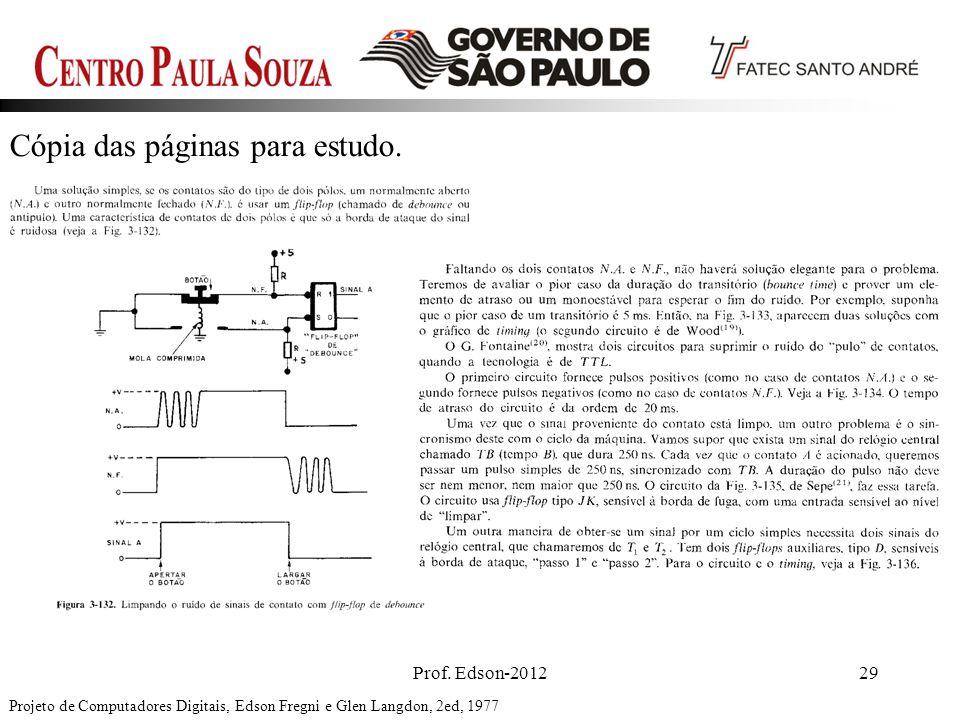 Prof. Edson-201229 Cópia das páginas para estudo. Projeto de Computadores Digitais, Edson Fregni e Glen Langdon, 2ed, 1977