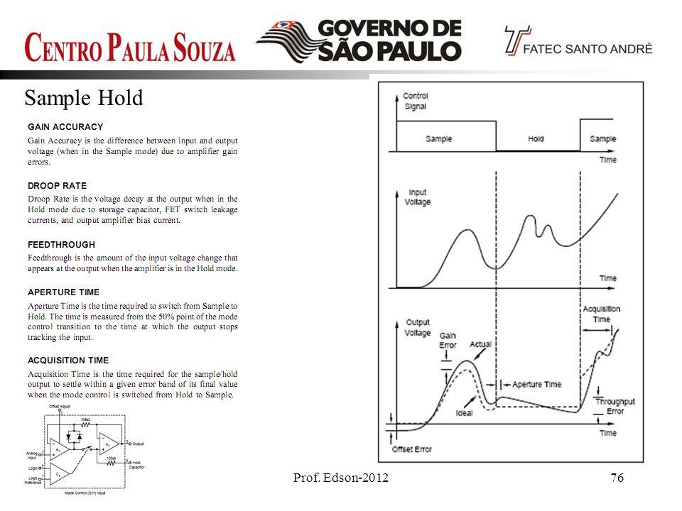 Prof. Edson-201276 Sample Hold
