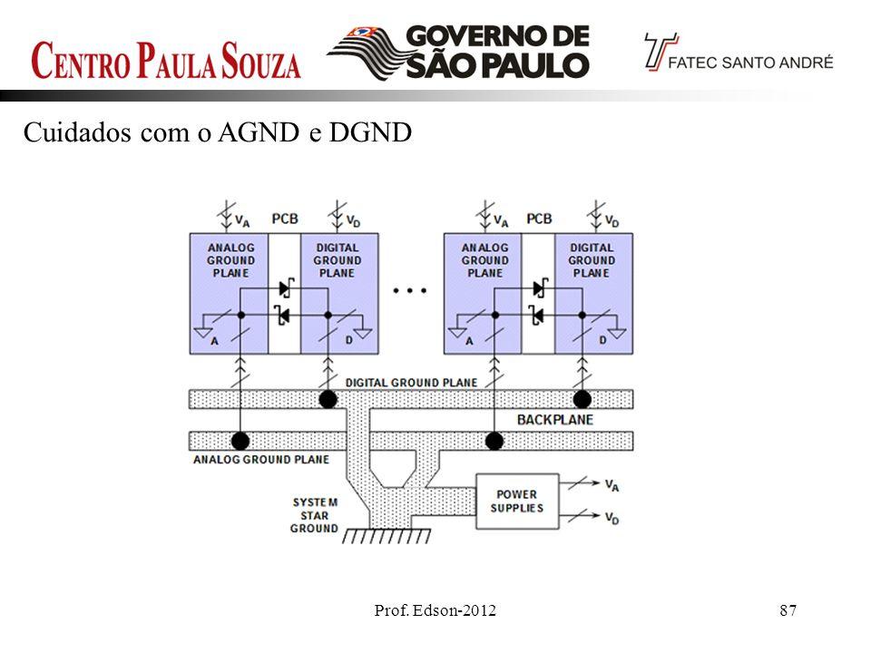 Prof. Edson-201287 Cuidados com o AGND e DGND