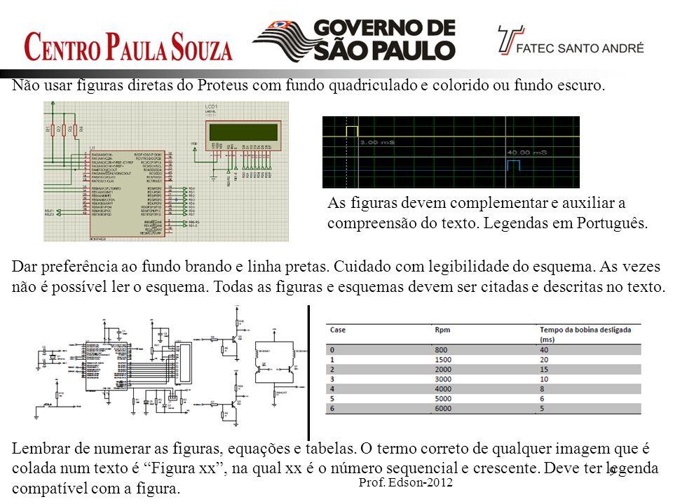 Prof.Edson-201240 Curva de do tempo de fusão para diferentes valores de corrente em fusíveis gG.