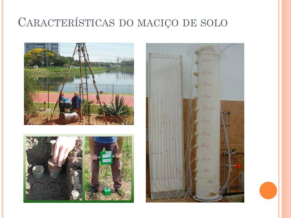 C ARACTERÍSTICAS DO MACIÇO DE SOLO