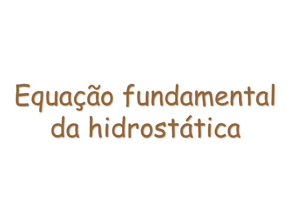 Equação fundamental da hidrostática