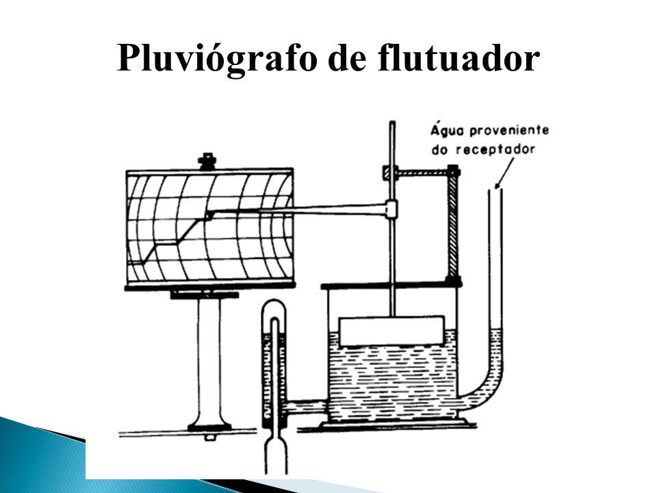 Pluviógrafo de flutuador