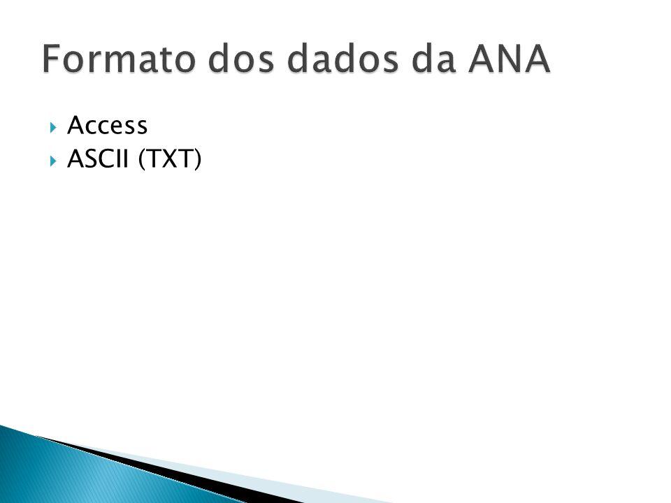 Access ASCII (TXT)