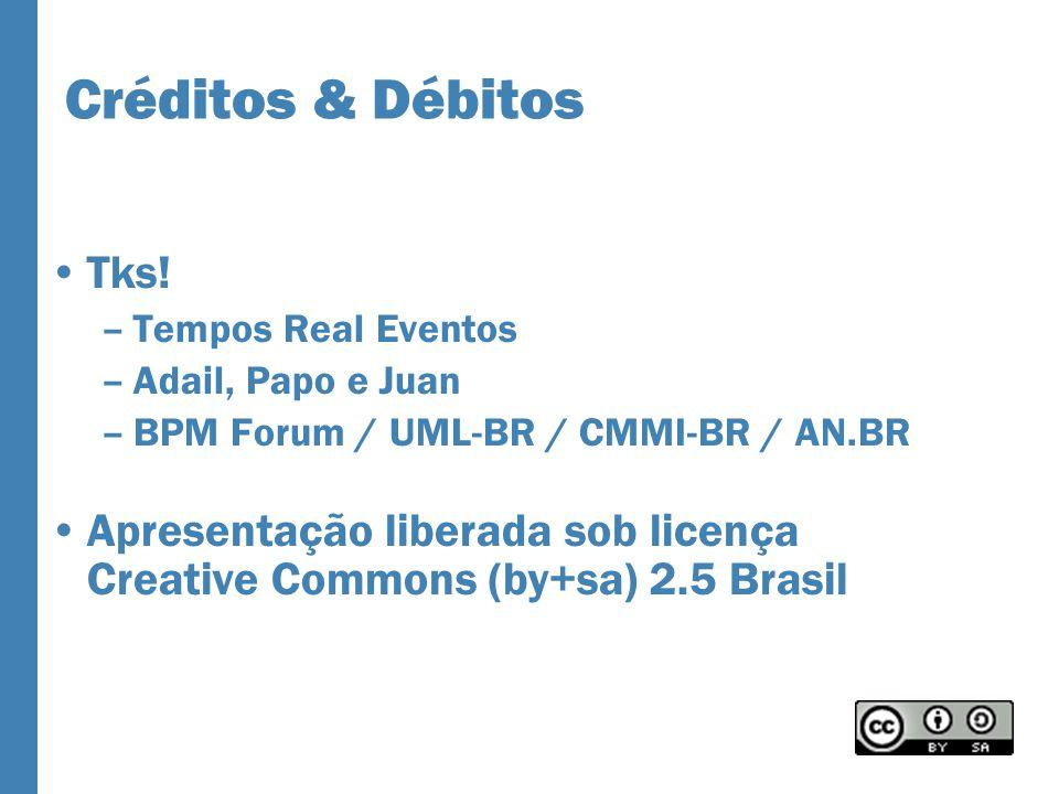 Créditos & Débitos Tks.